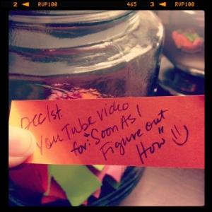 Dec 1: gratitude jar entry