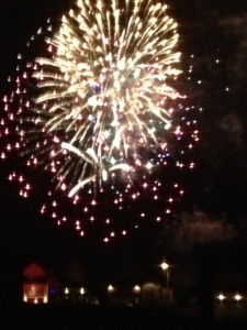 Fireworks in Uxbridge