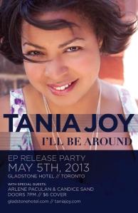 Tania Joy EP Release Poster